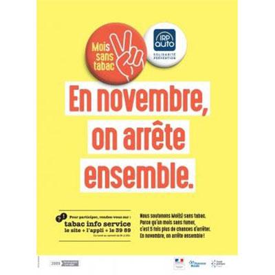 Participez au « Mois sans tabac » avec IRP AUTO