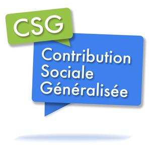 Taux de CSG appliqué en 2019