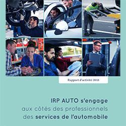 IRP AUTO - rapport d'activité 2018