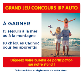 IRP AUTO - Jeu concours