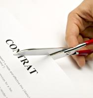 Résiliation d'un contrat individuel