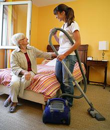Aide à domicile momentanée : je suis aidé en cas d'imprévu