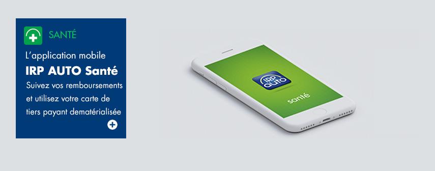 IRP AUTO - L'application mobile