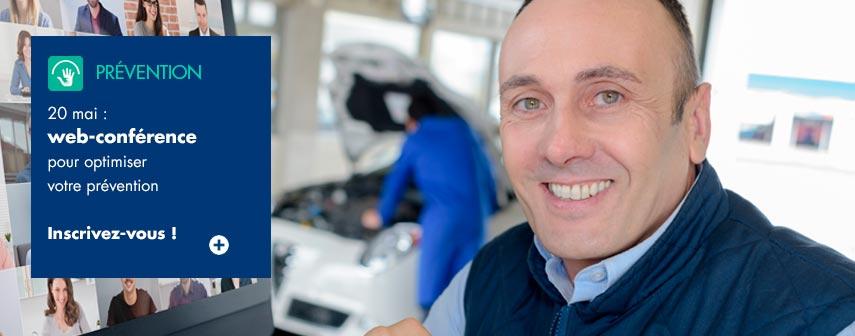 IRP AUTO : Webinar Prévention