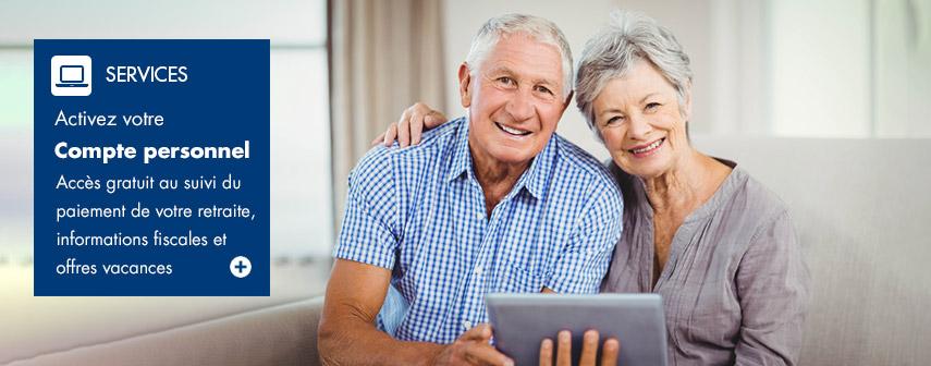 IRP AUTO : création de compte pour les retraités