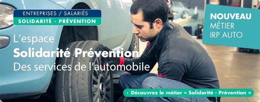 IRP AUTO : Solidarité et prévention