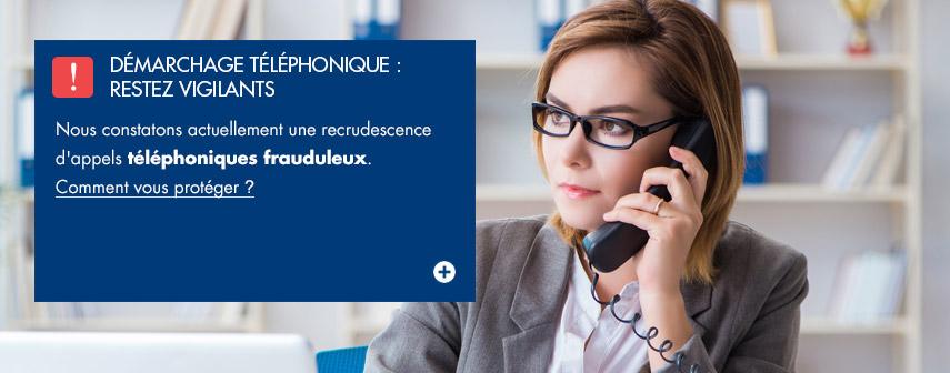 IRP AUTO : Démarchage téléphonique : restez vigilants