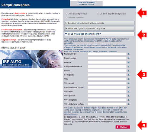 Activez Votre Compte Internet C Est Simple Et Gratuit Irp Auto Com