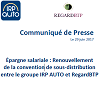 IRP AUTO - Épargne salariale : Renouvellement de la convention