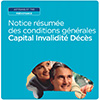 Notice Capital Invalidité Décès - Artisans & TNS, CDR424P