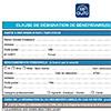 Formulaire de désignation de bénéficiaire(s) en cas de décès