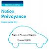 Notice individuelle du Régime Professionnel Obligatoire de prévoyance (RPO) - Cadres, N_PREVOYANCE_RPO_C