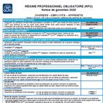 Notice Régime Professionnel Obligatoire de Prévoyance,  Agents de maîtrise,  LDR140P