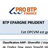 Notice FCPE Épargne Prudent, DDR017P